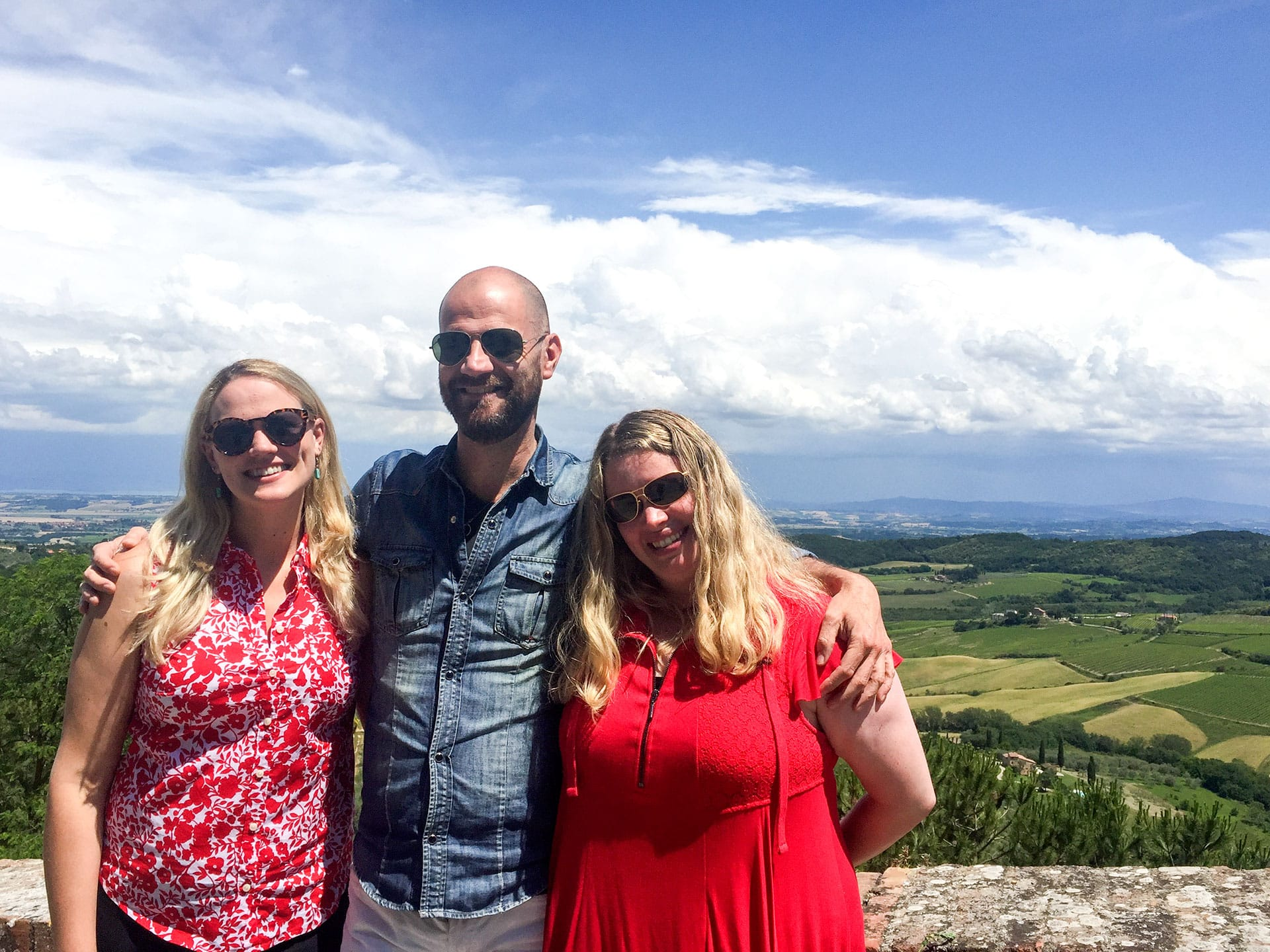 Cortona wine tour photos and images | Pictures of wine and truffle tours in Tuscany and Umbria